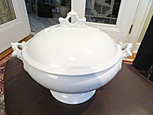 Rare Antique Ironstone Soup Tureen