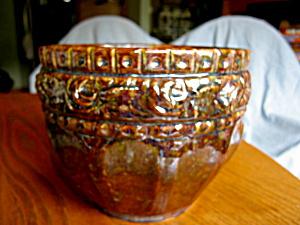 Vintage Blended Glaze Jardiniere (Image1)