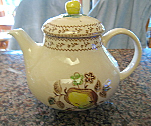 Johnson Brothers Fruit Sampler Teapot