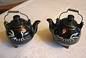 Vintage Tea Kettle Shakers