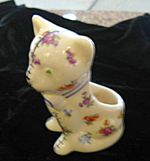 Vintage Kitty Planter