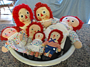 Vintage Raggedy Ann Assortment
