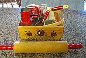 Vintage Red Theme Kitchenware