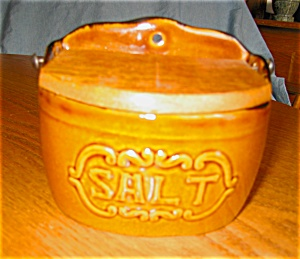 Ceramic Salt Box Vintage