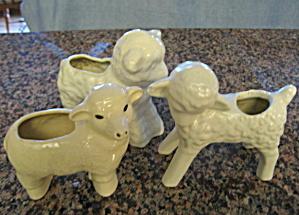 Vintage Lamb Planters (Image1)