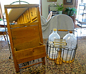 Vintage Laundry Room Bottles (Image1)