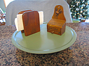 Vintage Lazy Susan Recycled (Image1)
