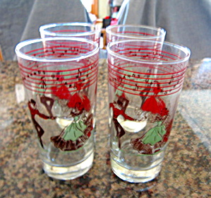 Libbey Glasses - Dancers