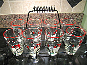 Libbey Glass Set w/Carrier (Image1)