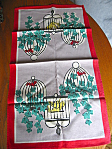 Canary Vintage Kitchen Towel