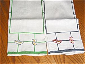 Vintage Retro Kitchen Linens (Image1)