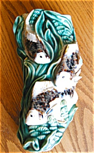 Art Pottery Fish Wallpocket