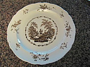 Large Mason's Antique Ironstone Platter  (Image1)