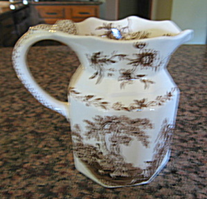 Mason's Transferware Water Pitcher