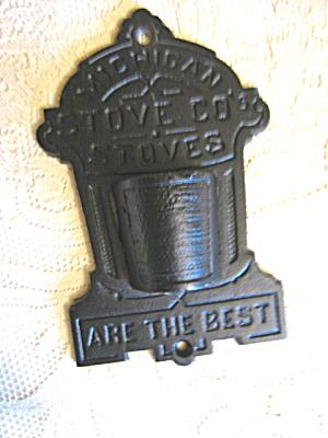 Emig Cast Iron Advertising Matchsafe (Image1)