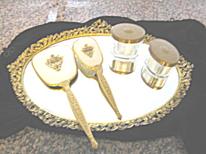 Vintage Matson Vanity Tray and Jars (Image1)