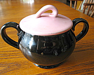 Vintage Mccoy Pottery Sugar Bowl