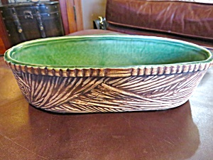McCoy Pottery Basketline Planter (Image1)