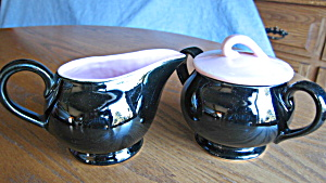 Vintage McCoy Creamer and Sugar (Image1)