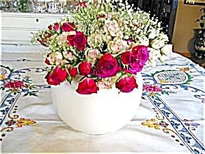 McCoy Pottery Rose Bowl (Image1)