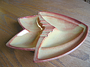 Mccoy Pottery Ashtray Hydroplane
