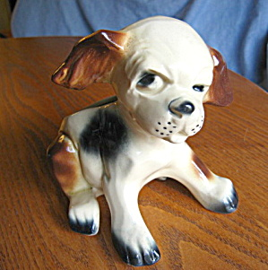Vintage Mccoy Puppy Planter