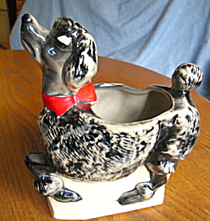 Mccoy Pottery Poodle Planter