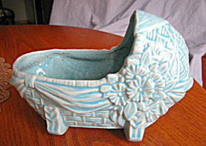 Mccoy Pottery Cradle Planter