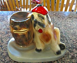 Vintage McCoy Swank Dog Bank (Image1)