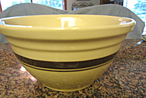 Huge McCoy Pottery Bowl  (Image1)