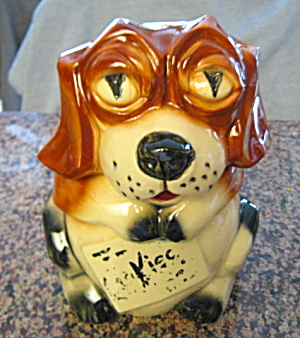 McCoy Cookie Jar Vintage Beagle  (Image1)