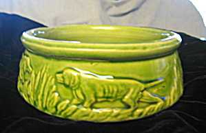 McCoy Pottery Dog Bowl (Image1)