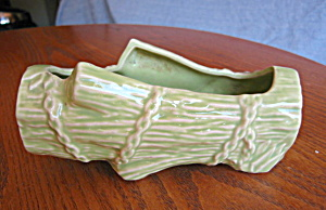 Vintage Mccoy Log Planter