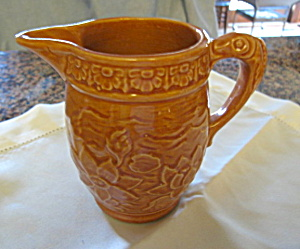 McCoy Antique Water Lily Pitcher (Image1)