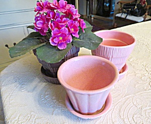 Mccoy Pottery Planters
