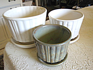 Mccoy Flower Pot Trio