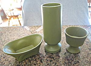 McCoy Floraline Vase Trio (Image1)