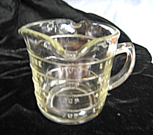 Vintage Three Spout Measuring Glass