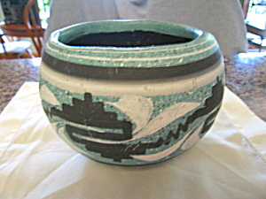 Vintage Mexican Pottery Planter (Image1)