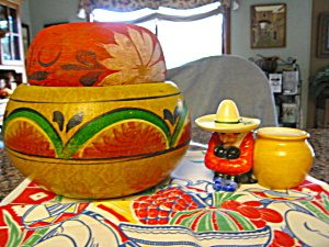 Vintage Mexican Pottery Assortment