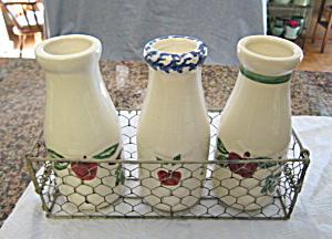 Santa Ana Crock Shop Milk Bottles (Image1)