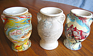 Vintage End-of-day Vases Rare