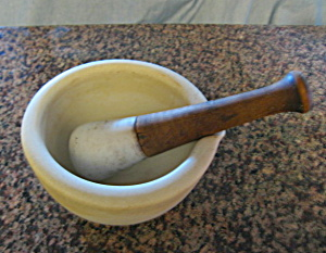 Tms & Co. Antique Mortar & Pestle