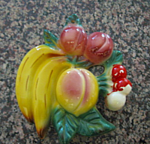 Morton Pottery Fruit Plaque
