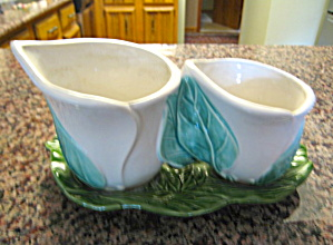 Morton Pottery Double Cache Planter