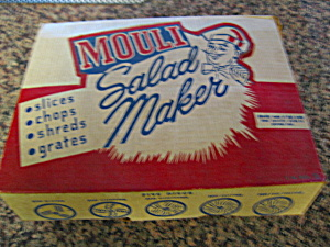 Mouli Salad Shredder Vintage Boxed