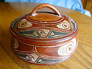 Venezualan Covered Vintage Jar
