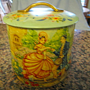 Vintage Murray Allen English Tin