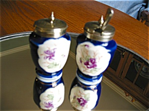 Antique Porcelain Dry Mustard Jars