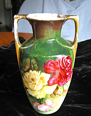 Antique Signed Vase Austrian